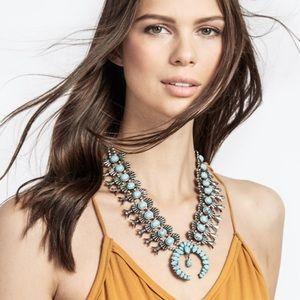 BaubleBar Turquoise Capri Amulet Necklace